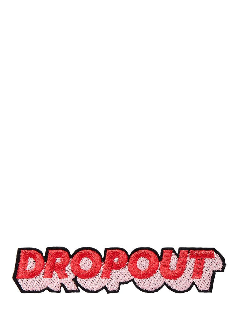 Dropout Iron On Patch