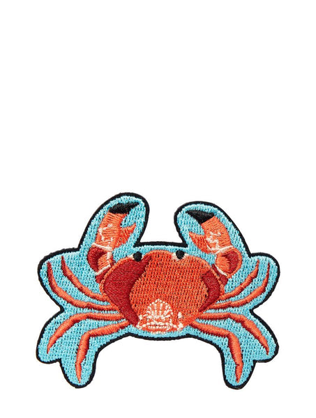 Crab Iron On Patch