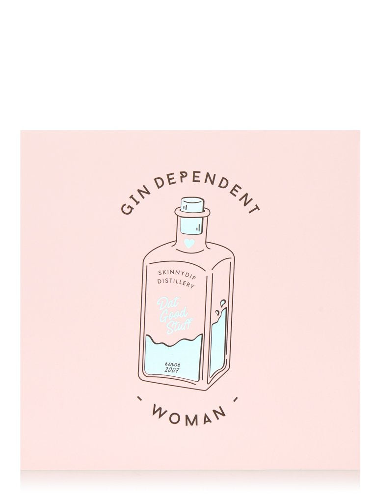 Gindependent Woman Card