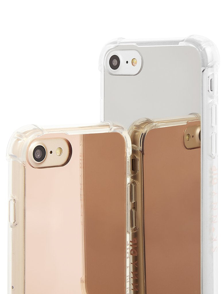 Rose Gold Mirror Case