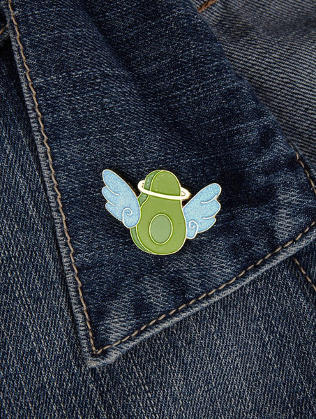 Angel Avo Enamel Pin