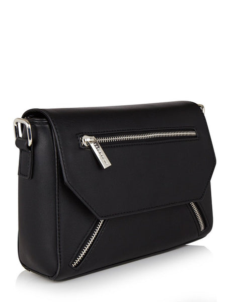 Black Cleo Cross Body Bag