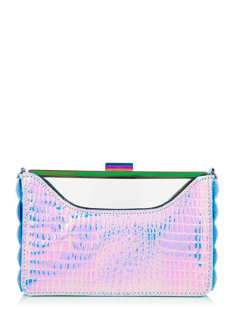 Blue Rita Clutch Bag