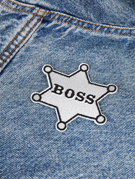 Boss Iron On Patch