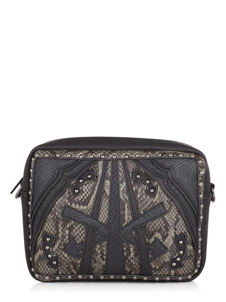 Bumble Black Mix Cross Body Bag