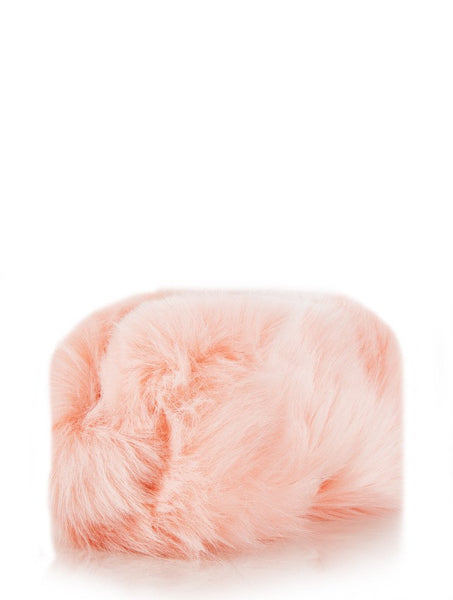 Candy Fur Small Make Up Bag