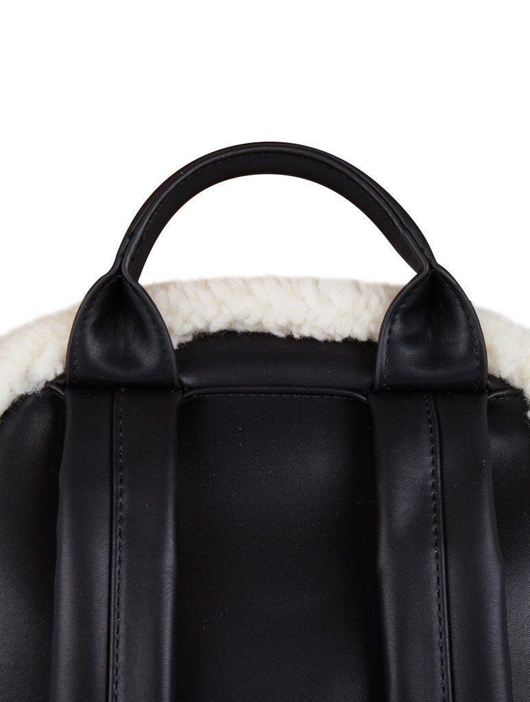 Charlie Shearling Backpack