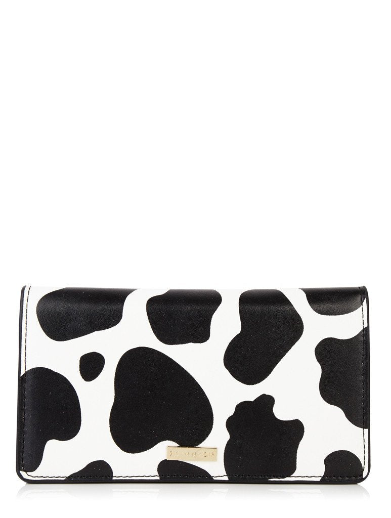 Cow Print Folded Purse