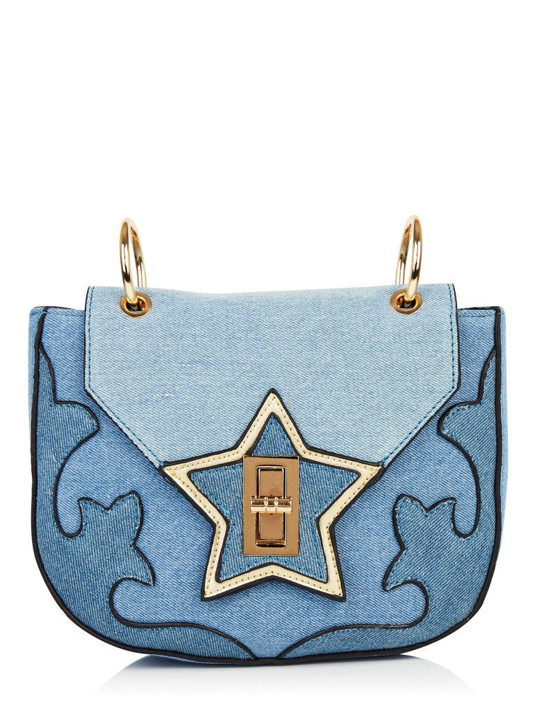 Denim Vixen Cross Body Bag