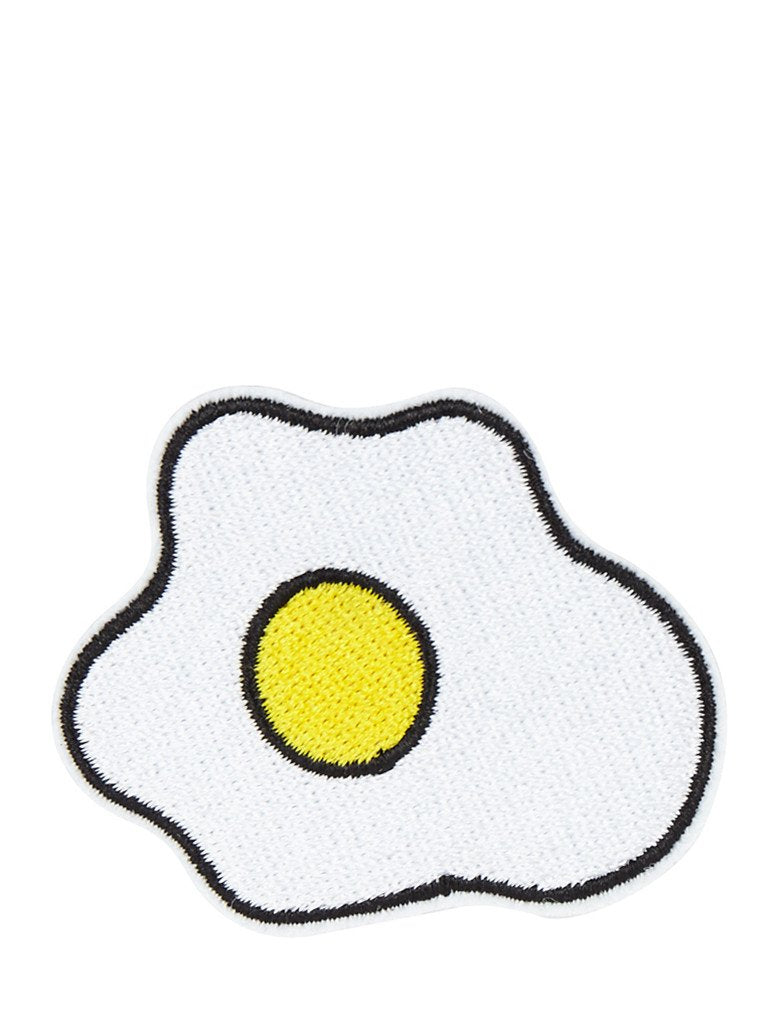 Egg Iron On Patch