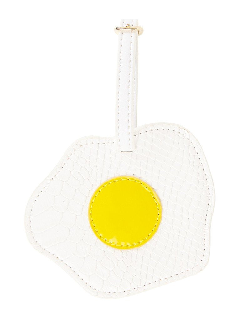 Fried Egg Luggage Tag