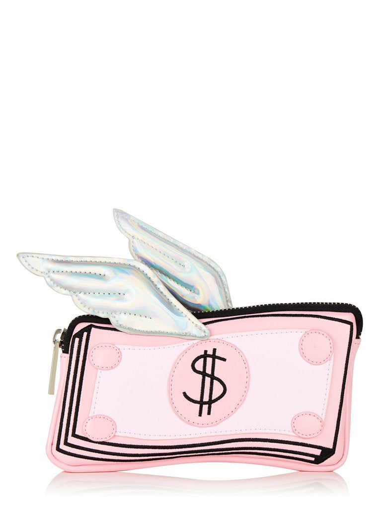Flying Money Pencil Case