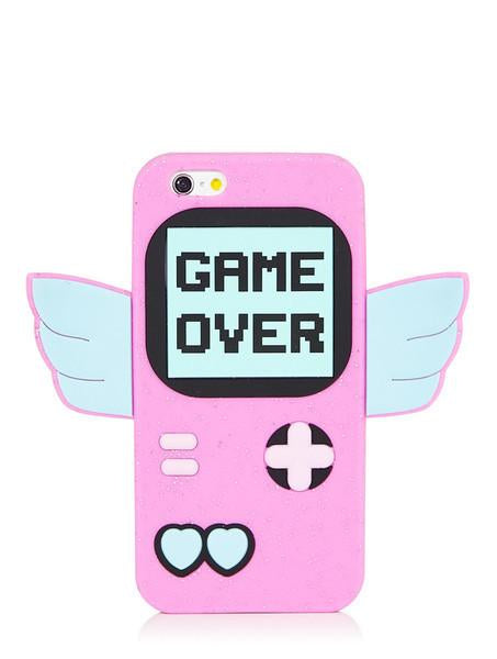 Game Over Silicone Case