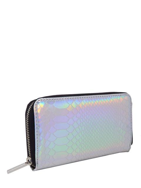 Holographic Snake Purse