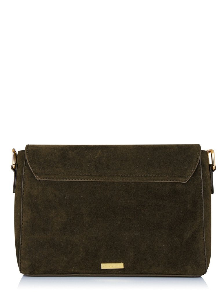Khaki Cleo Cross Body Bag