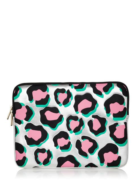 Leopard Print Laptop Case