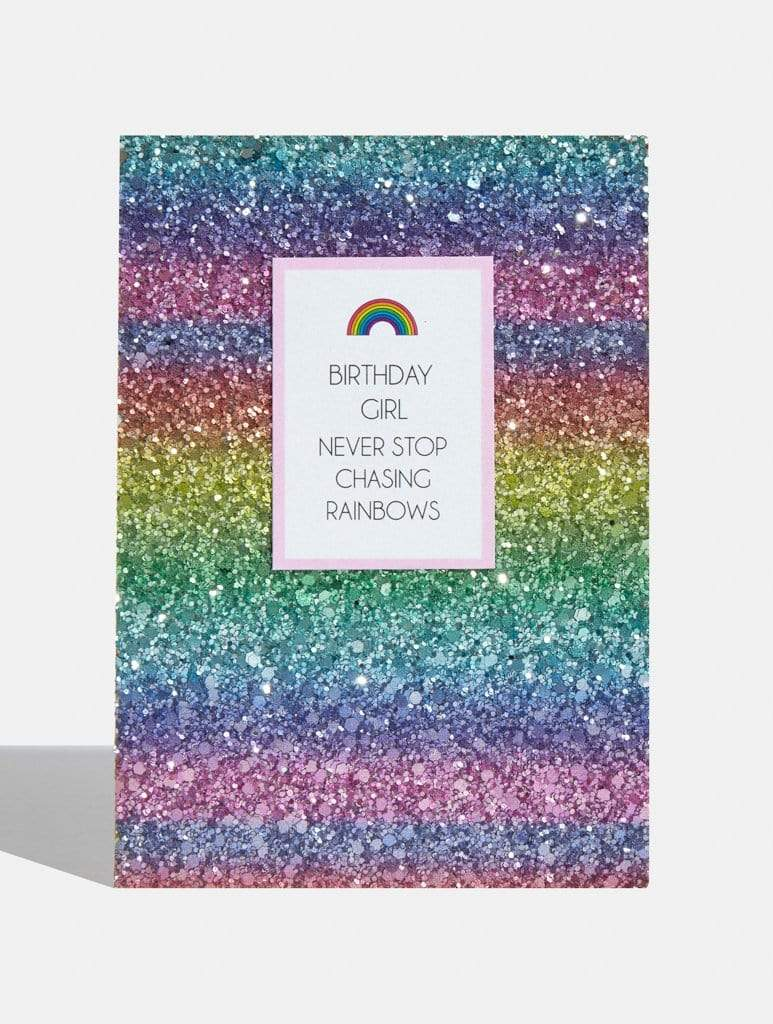 Birthday Girl Rainbow Card