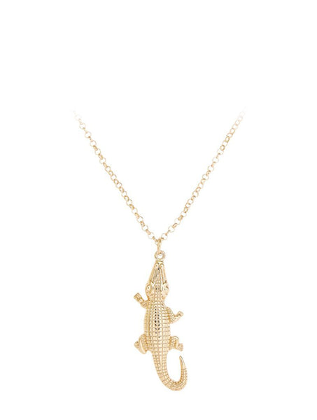 Alligator Charm Necklace