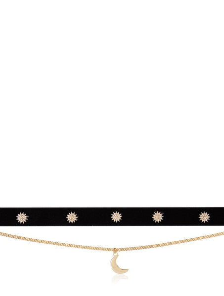 Angela Velvet Choker Necklace