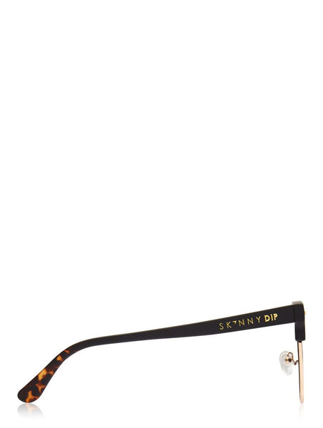 Ashby Black Club Sunglasses