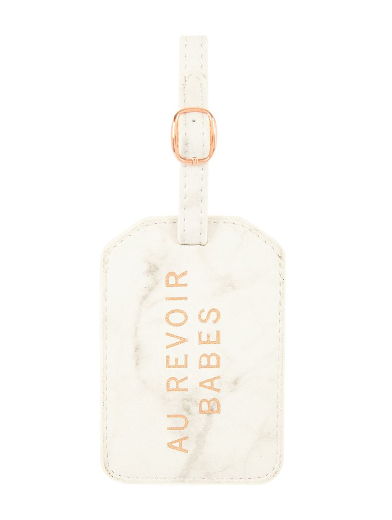 Au Revoir Luggage Tag