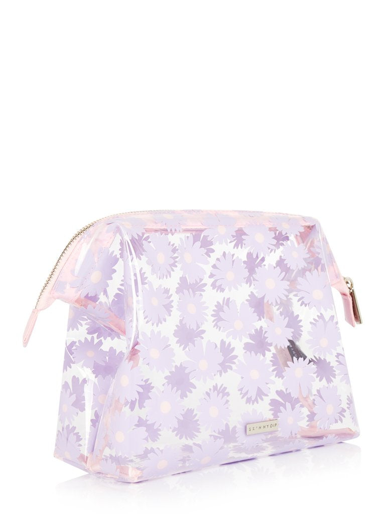 Lilac Daisy Wash Bag