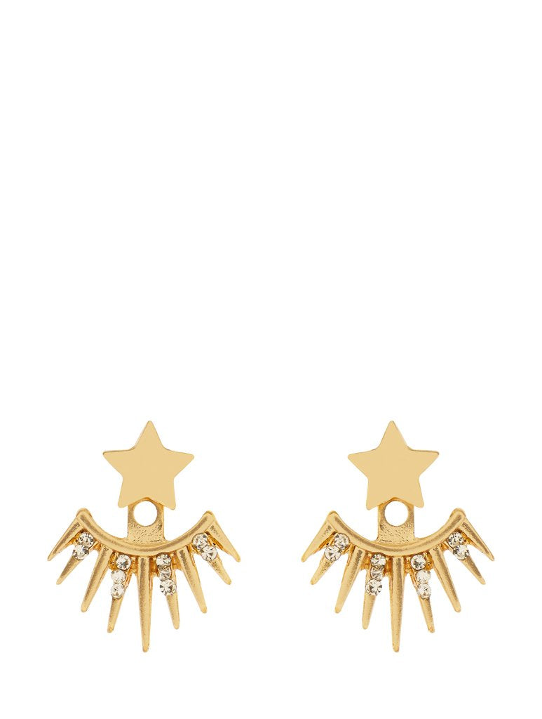 Backdrop Star Earrings