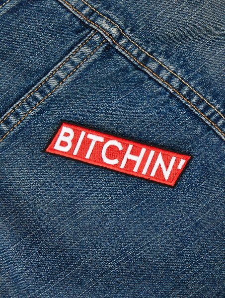 Bitchin' Iron On Patch
