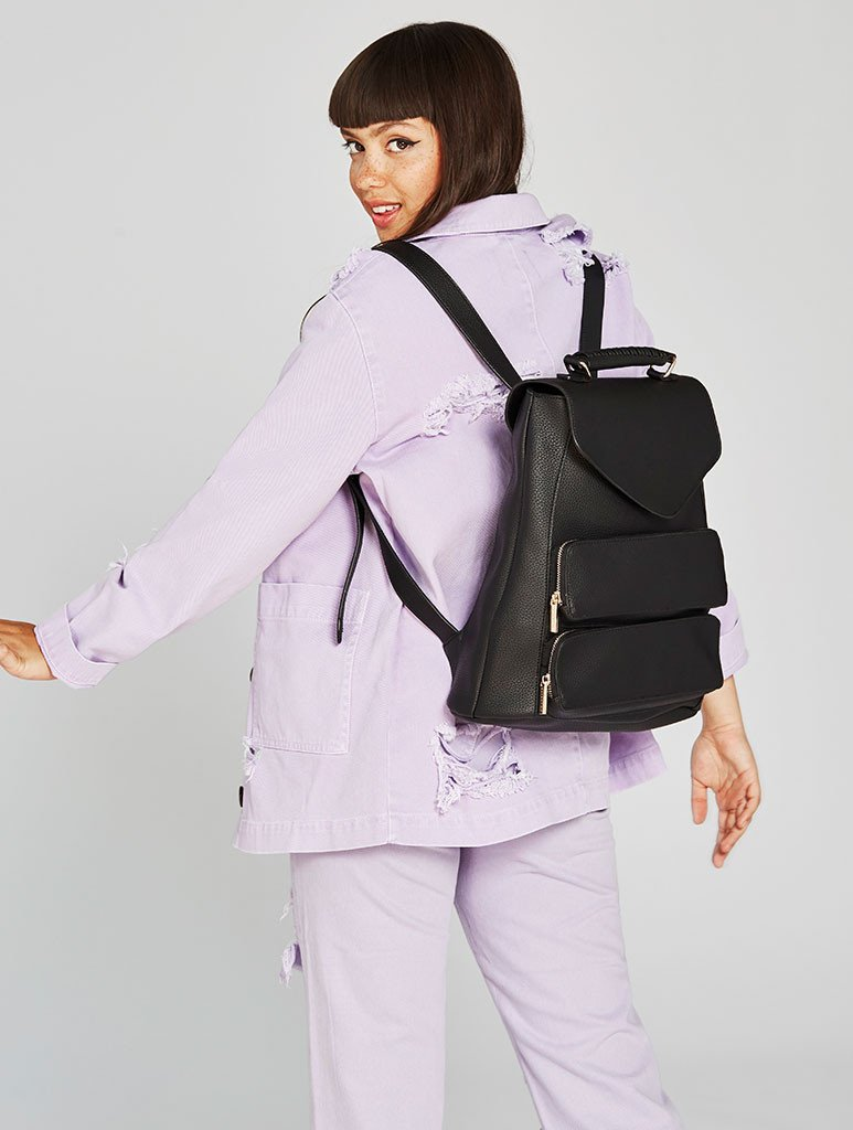 Black Archer Backpack