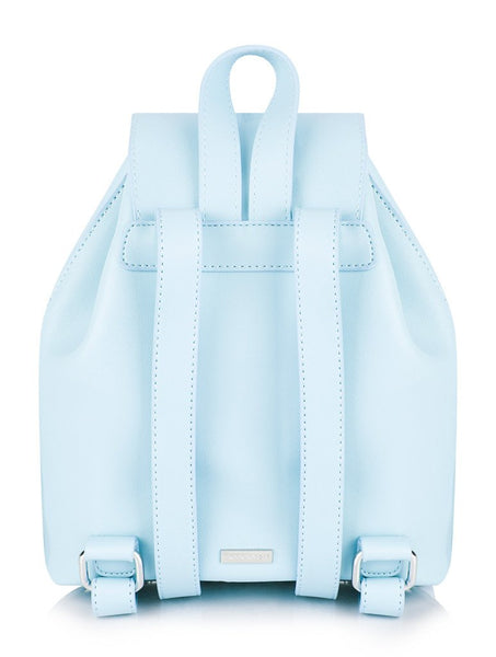 Blue Mini Cressida Fringe Backpack