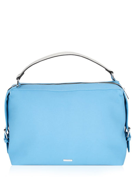 Blue Suede Luella Tote Bag