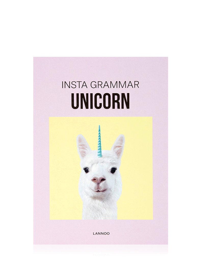 Insta Grammar Unicorn Book