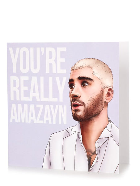 Zayn Loves You Card