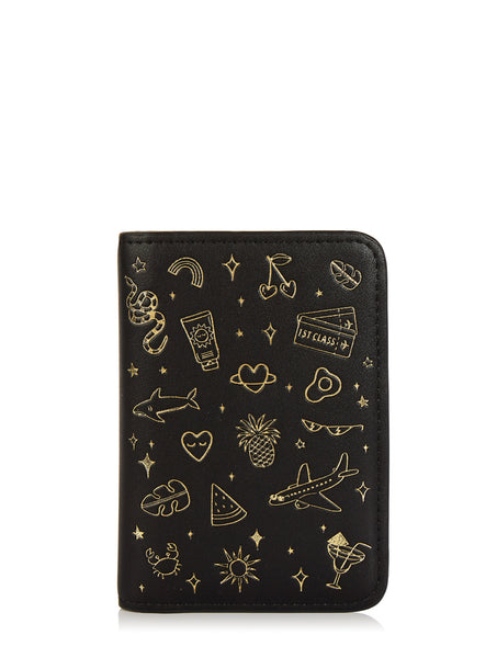 Doodle Passport Holder