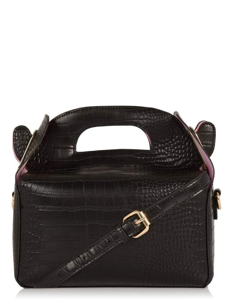 Ffion Croc Cross Body Bag