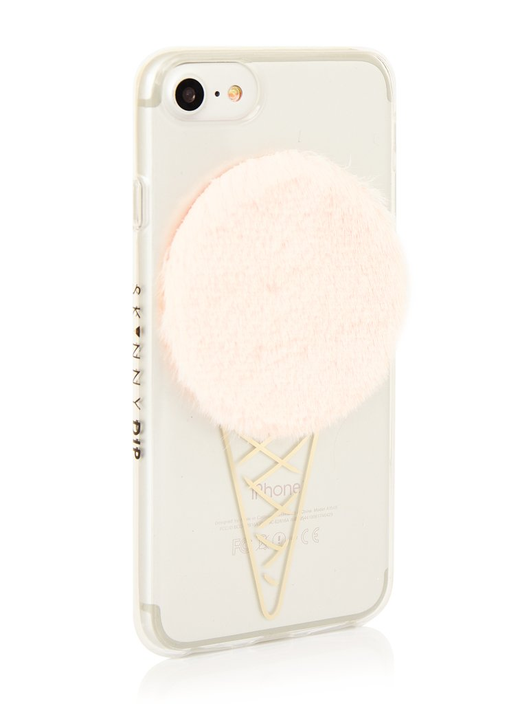 Fluffy Ice Cream Case