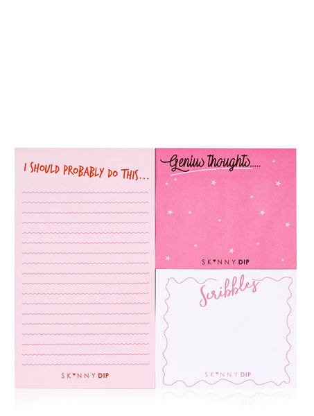 Genius Thoughts Sticky Notes Pack