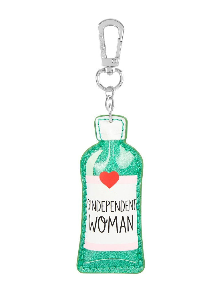 Gindependent Woman Key Charm