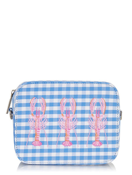 Tin Gingham Cross Body Bag