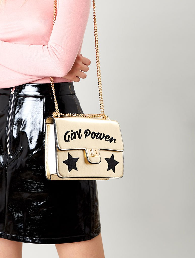 Girl Power Cross Body Bag