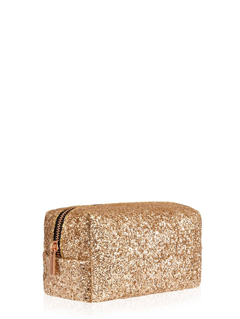 Gold Dita Makeup Bag