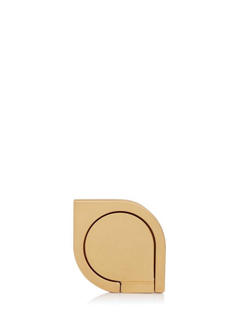 Gold Teardrop Phone Ring