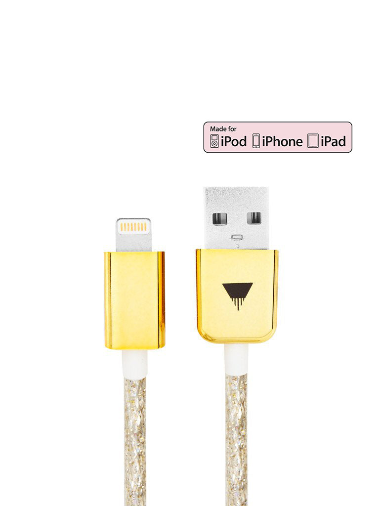 Gold iPhone Cable