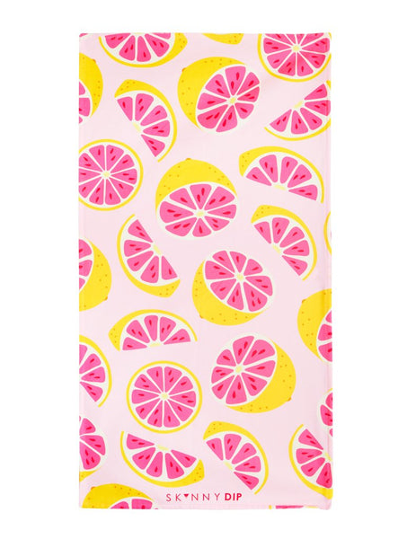 Grapefruit Beach Towel