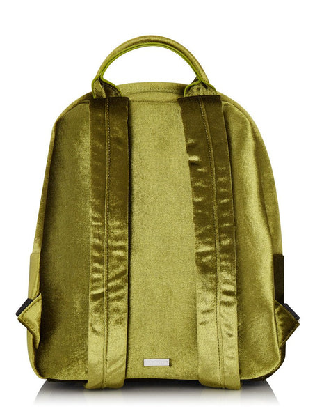 Green Velvet Charlie Backpack