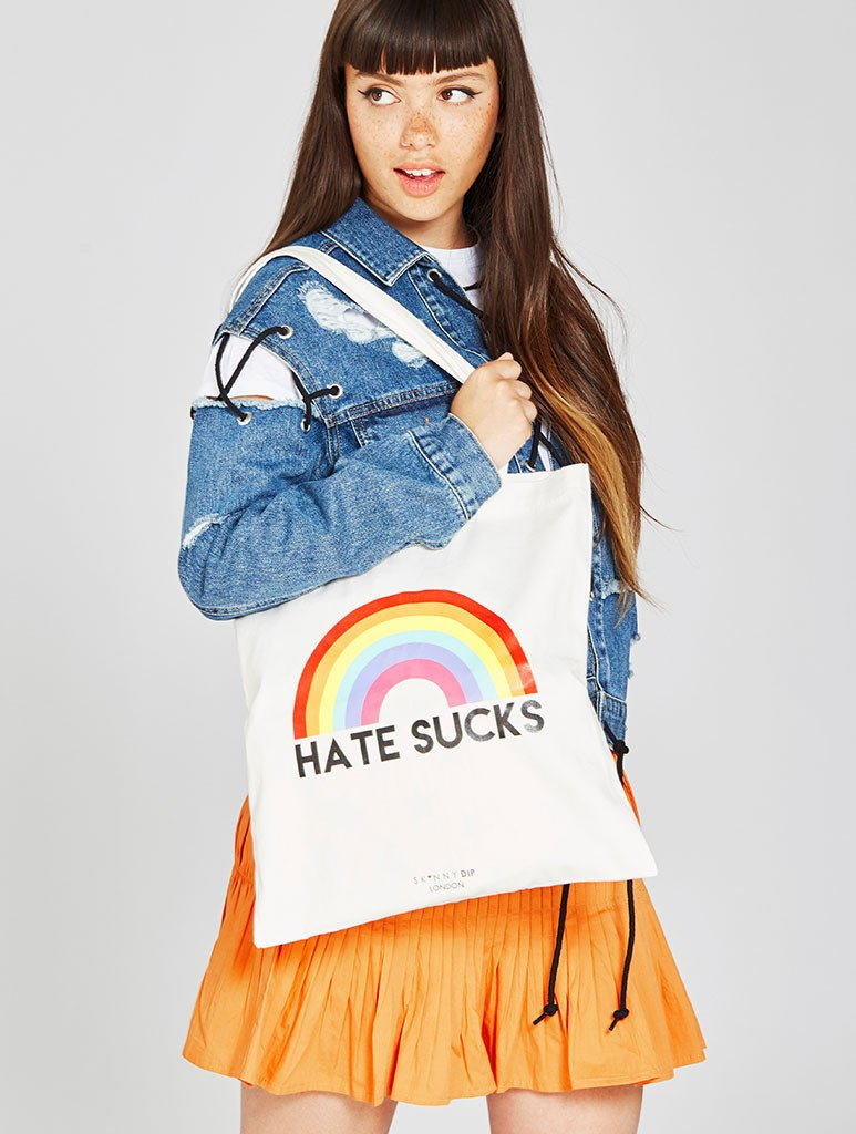 Hate Sucks Tote Bag
