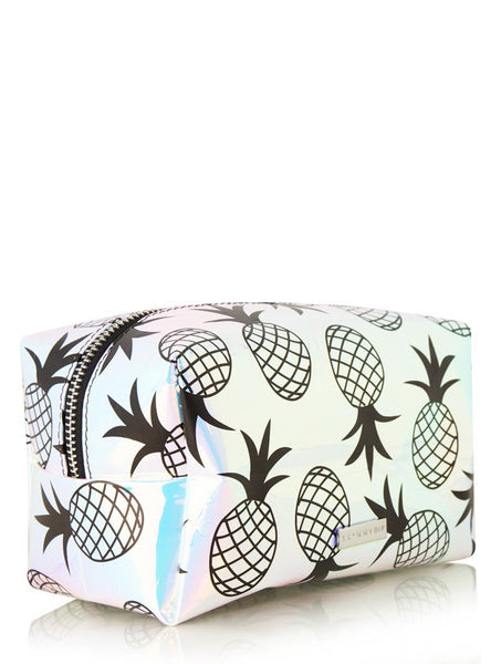 Holo Pineapple Make Up Bag