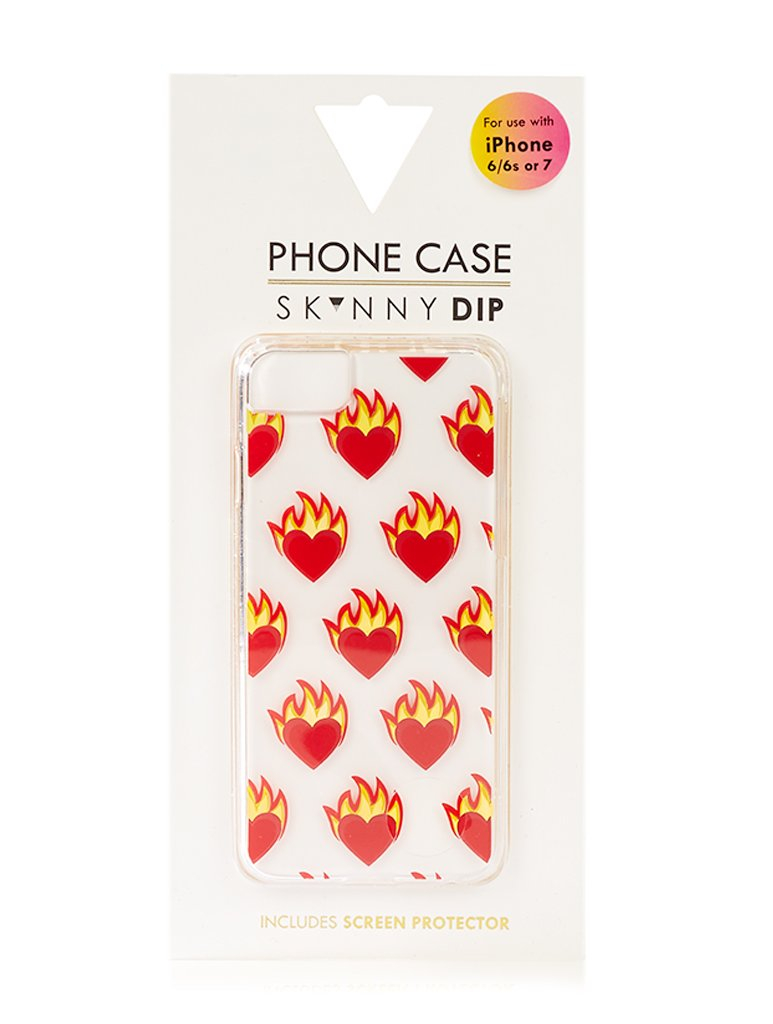 Flame Heart Case