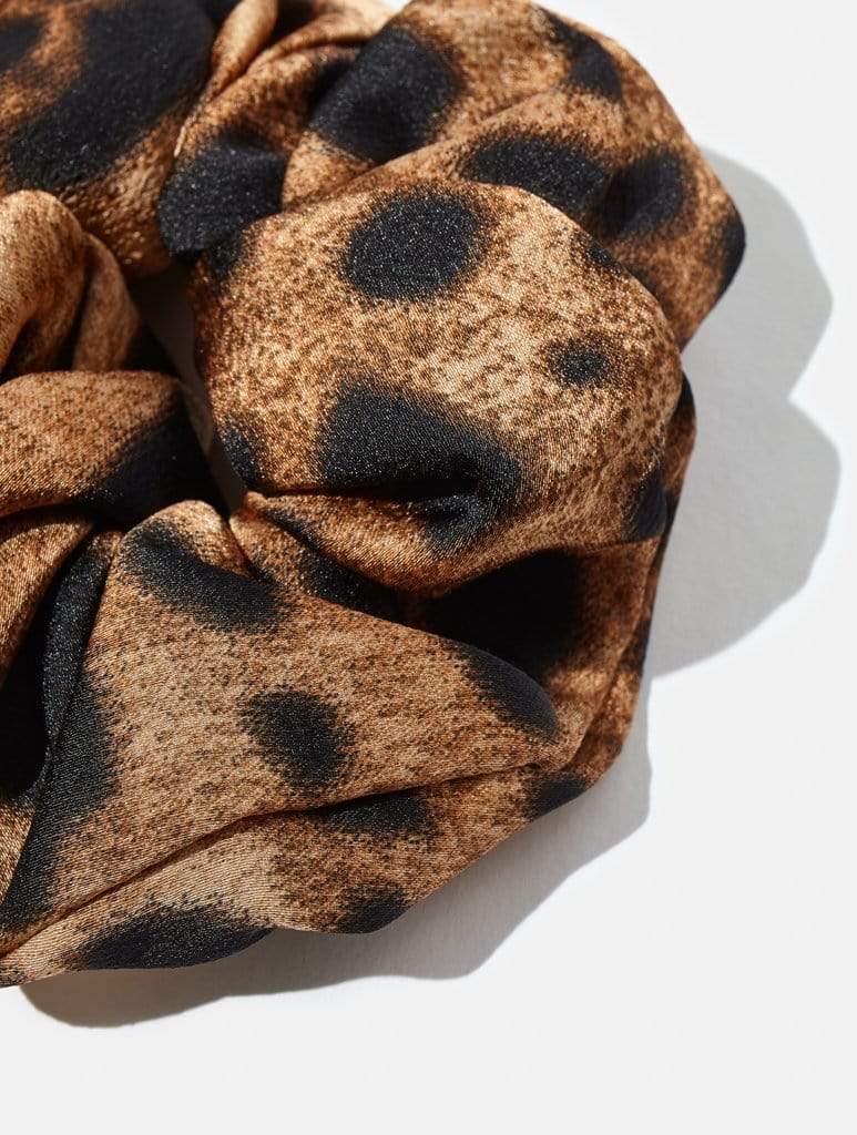 Leopard 2 Pack Scrunchies