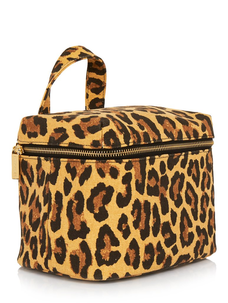Leopard Washbag